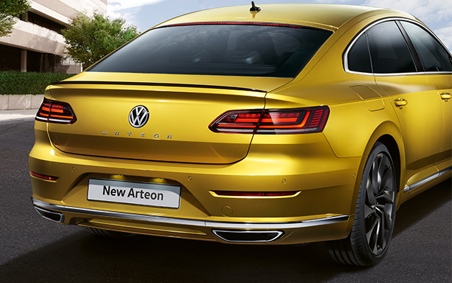 Arteon assistance systems