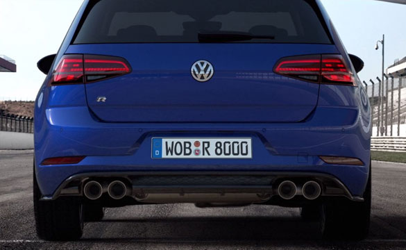 Golf R video overlay 585x360